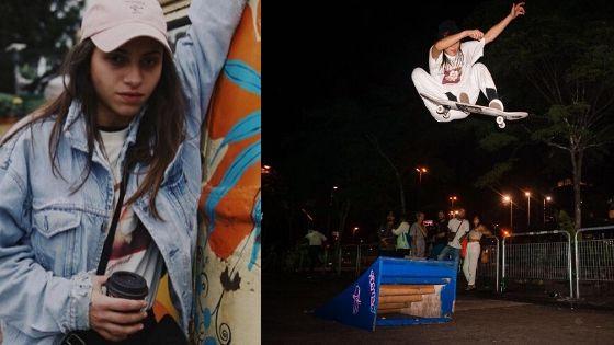 Skate arte - vitoria Bortolo skatista e artista .